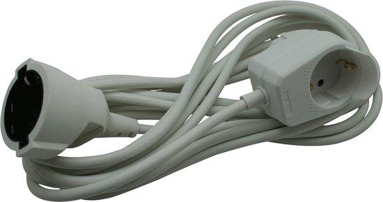 Vaak bol.com   Bellson verlengsnoer 5 meter randaarde + stopcontact DZ84