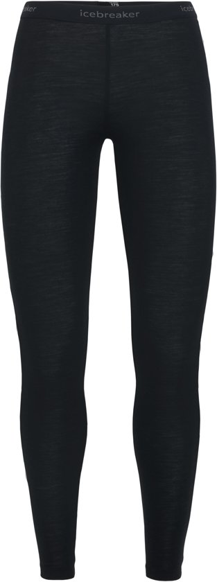Icebreaker 175 Everyday Legging Dames Thermobroek - Black - XL