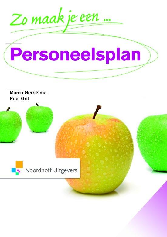 Boek cover Zo maak je een personeelsplan van Marco Gerritsma (Paperback)