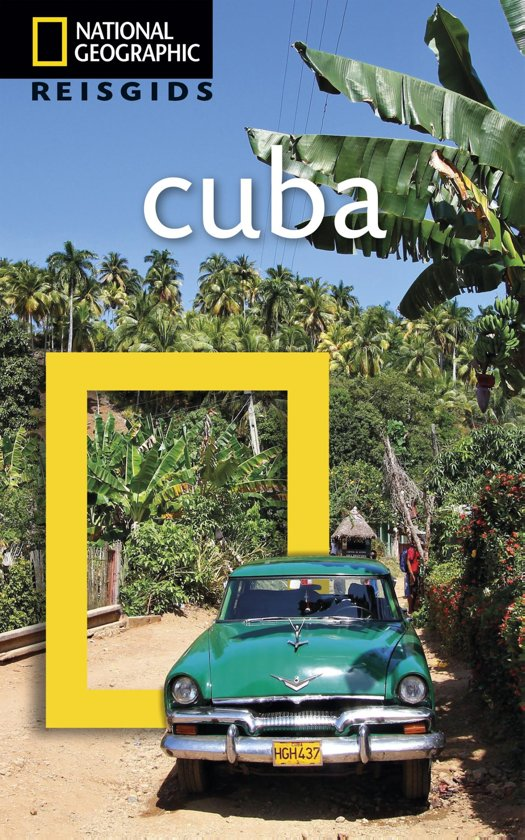 National Geographic Reisgids - Cuba cover