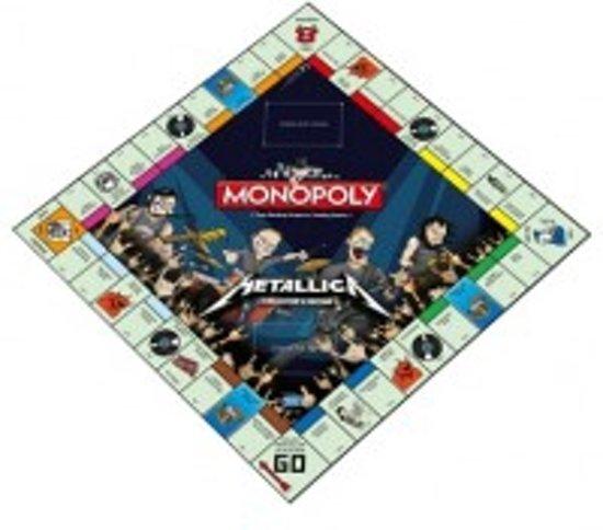 Monopoly - Metallica Rock Band - Engelstalig