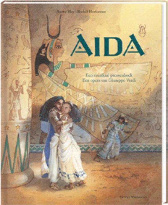 Muzikale prentenboeken, boeken met CD - Aida