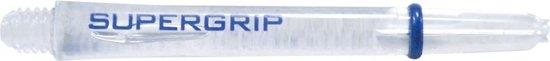 Harrows darts Supergrip nylon shaft transparant medium 2ba 3 stuks