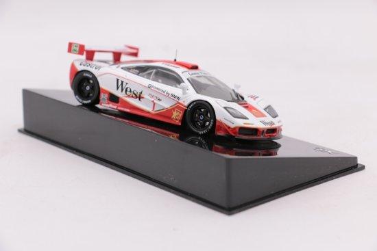 McLaren F1 GTR #1 T. Bscher P. Kox 4hrs Spa 1996 Ixo Models 1-43