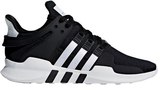 on sale 2435d 8978c adidas EQT Support ADV Sneakers - Maat 45 1/3 - Mannen - zwart/wit