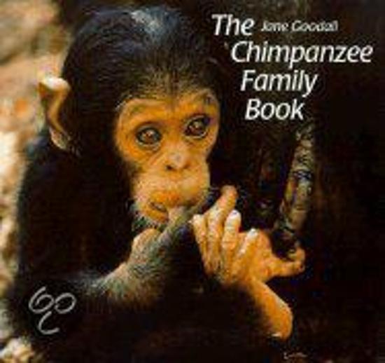 Boek cover Chimpanzee Family Book van Jane Goodall (Hardcover)