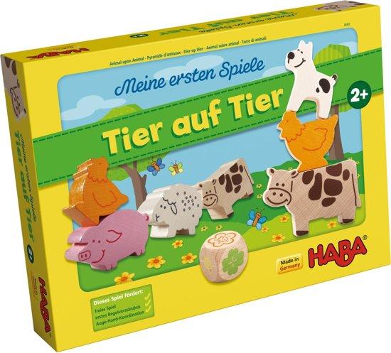 Afbeelding van het spel Spiel - Meine ersten Spiele - Animal upon Animal (Duits) = Frans 4765 - Nederlands 4764
