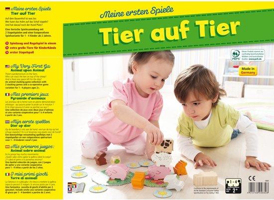 Thumbnail van een extra afbeelding van het spel Spiel - Meine ersten Spiele - Animal upon Animal (Duits) = Frans 4765 - Nederlands 4764