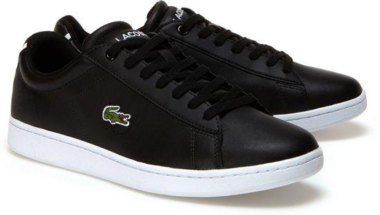 44 1 wit Carnaby Maat Zwart Lacoste Bl Sneakers Evo Mannen c7YwyqtyT