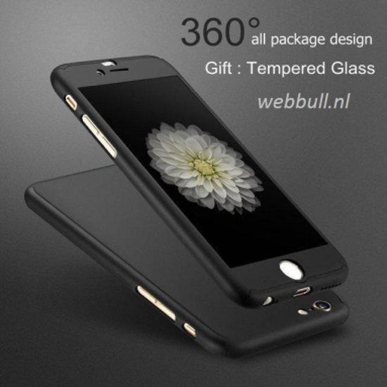 iPhone 7 360 Graden Hoesje (zwart)