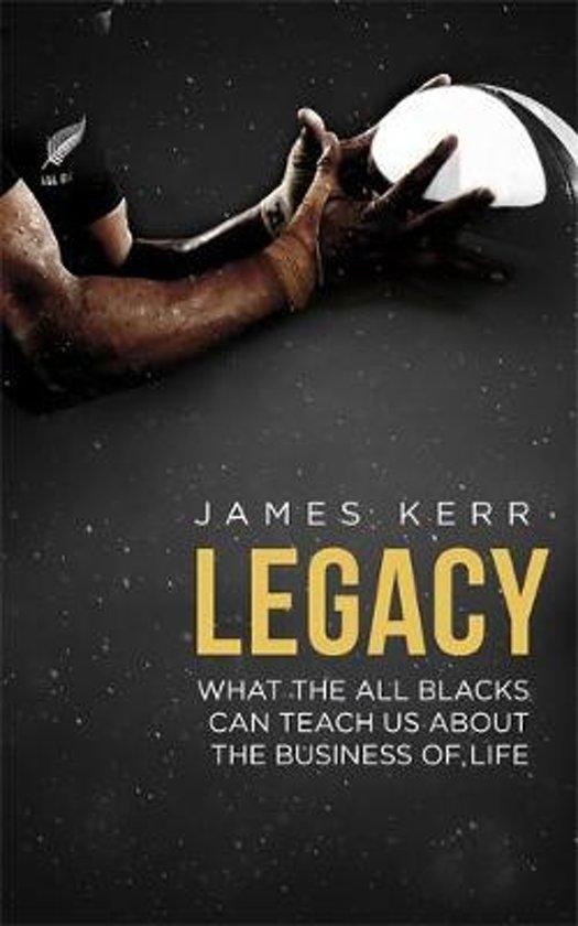 Boek cover Legacy van James Kerr (Paperback)
