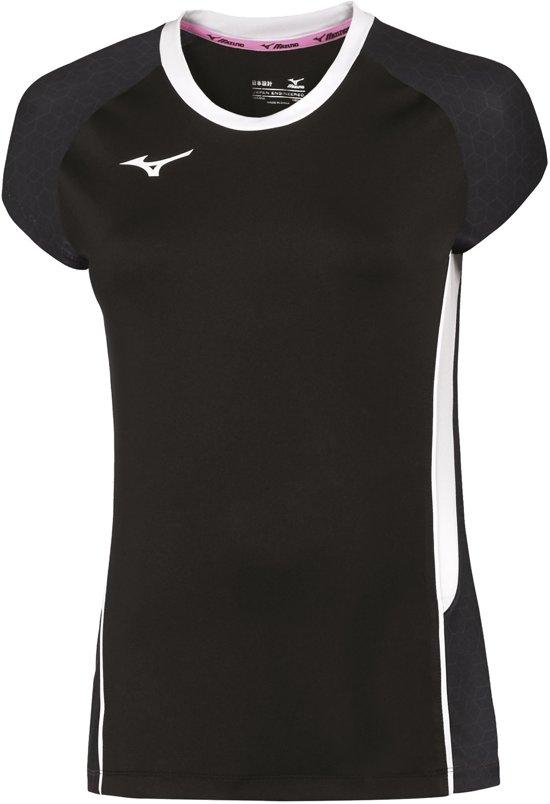 Vrouwen L Mizuno SportshirtMaat Zwart wit bf7IY6gyvm