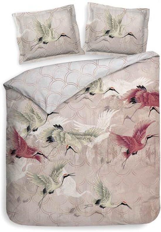 Heckett & Lane Mao - Dekbedovertrek - Tweepersoons - 200x200/220 cm + 2 kussenslopen 60x70 cm - Bridal Pink