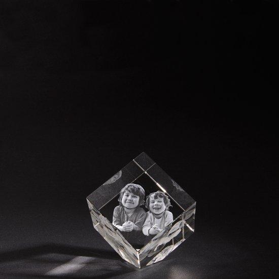 3d Glazen Kubus.Bol Com 3d Foto In Hoogwaardig Kristalglas Kubus