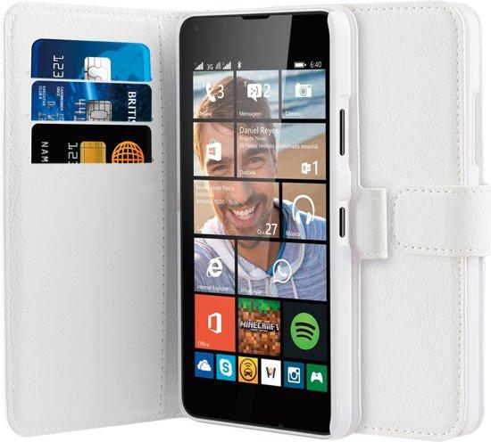 BeHello Wallet Case voor Nokia Lumia 640 - Wit in Vilvoorde