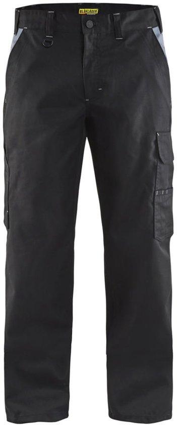 Blåkläder 1404-1800 Werkbroek Industrie Zwart/Grijs maat 58