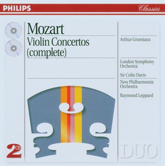 Mozart: Violin Concertos / Grumiaux, Davis, Leppard