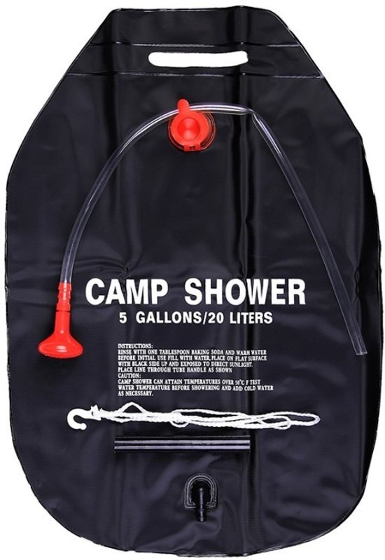 Camping douche 20 liter