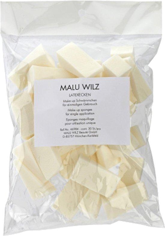 Malu Wilz Make Up Sponsjes Driehoekjes 30 St