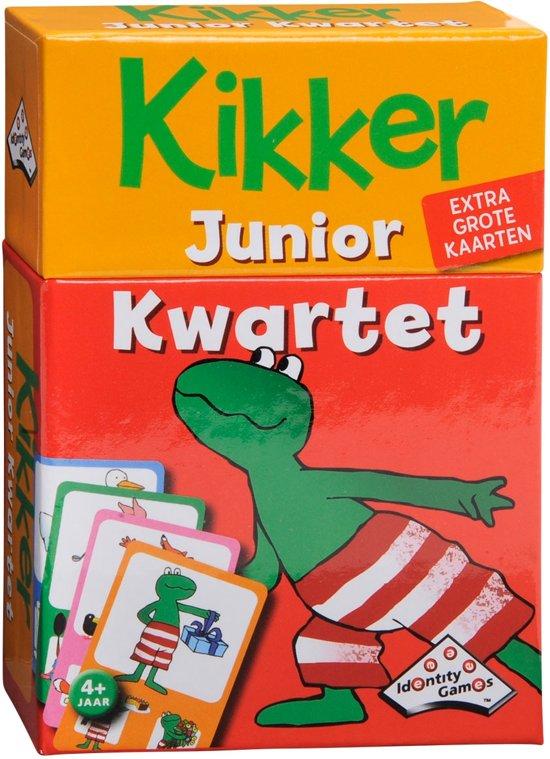 Afbeelding van Kikker Junior Weetjes Kwartet - Kaartspel speelgoed