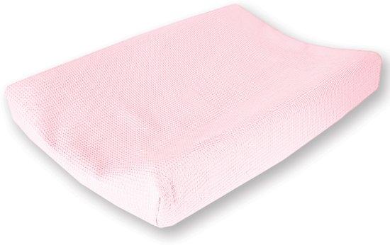 964a0f979b4836 bol.com | Cottonbaby Wafel - Aankleedkussenhoes - Roze