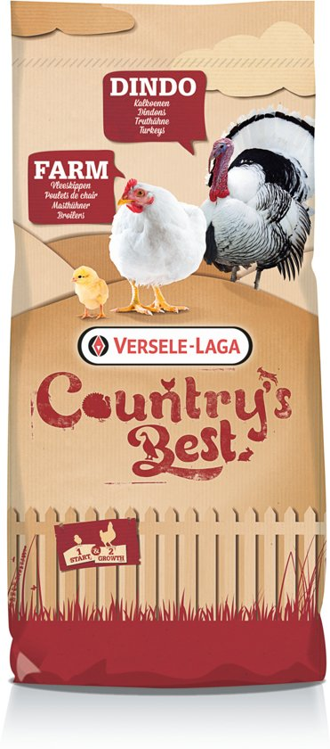 Versele-laga country's best farm 2 pellet groeikorrel vleeskip > 11 dagen