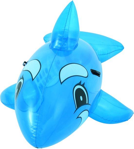 Bestway Opblaasbare Walvis - 160 cm blauw