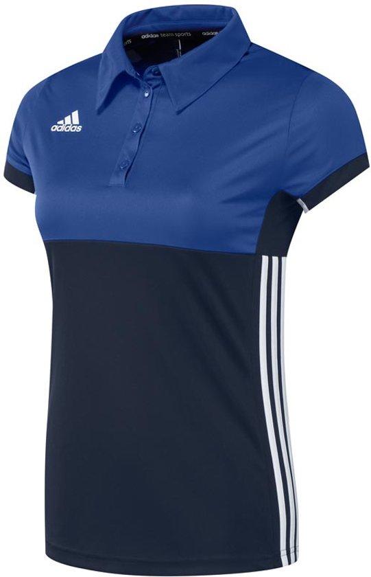 adidas T16 'Oncourt' Polo Dames - Shirts  - blauw donker - XXS
