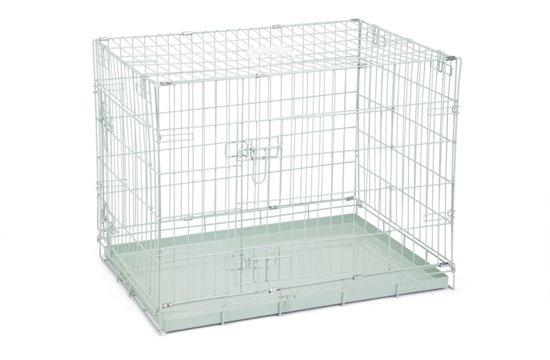 Beeztees 2 Deurs - Hondenbench - Groen - 78x55x61 cm