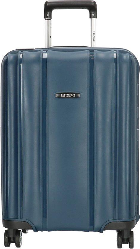 6c66367fa75 Enrico Benetti Durham 18010 Handbagage koffer 55cm - Blauw