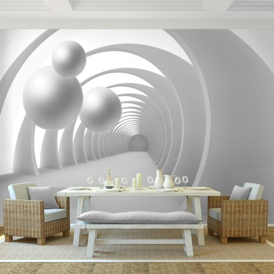 Foto Vliesbehang Muurposter 3D Ruimte D 308x220 cm