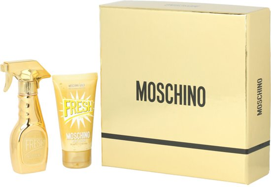 Moschino GOLD FRESH COUTURE SET 2 pz