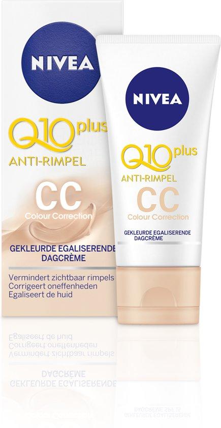NIVEA Q10plus Anti-Rimpel Gekleurde Egaliserende CC Cream SPF 15 - 50 ml