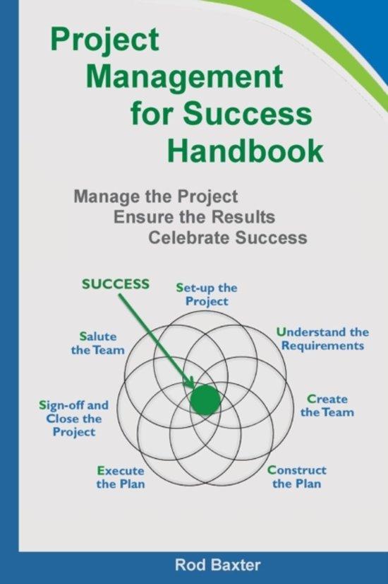 Project Management for Success Handbook