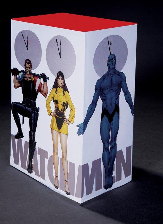 Boek cover Watchmen Collectors Edition Slipcase Set van Alan Moore (Hardcover)
