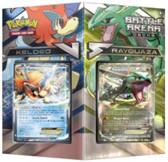Afbeelding van het spel Pokemon Battle Arena Decks: Rayquaza vs Keldeo