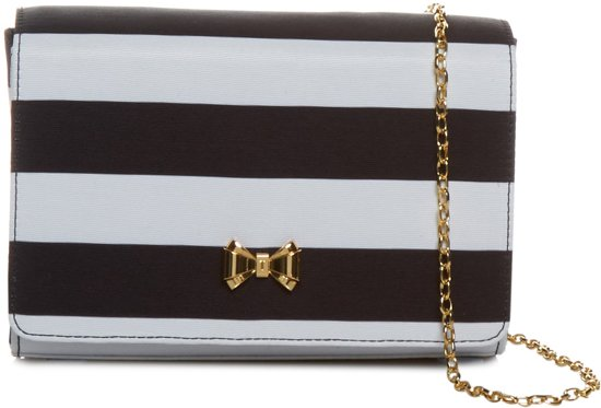 Ted Baker Stripey - Crossbodytas - Zwart