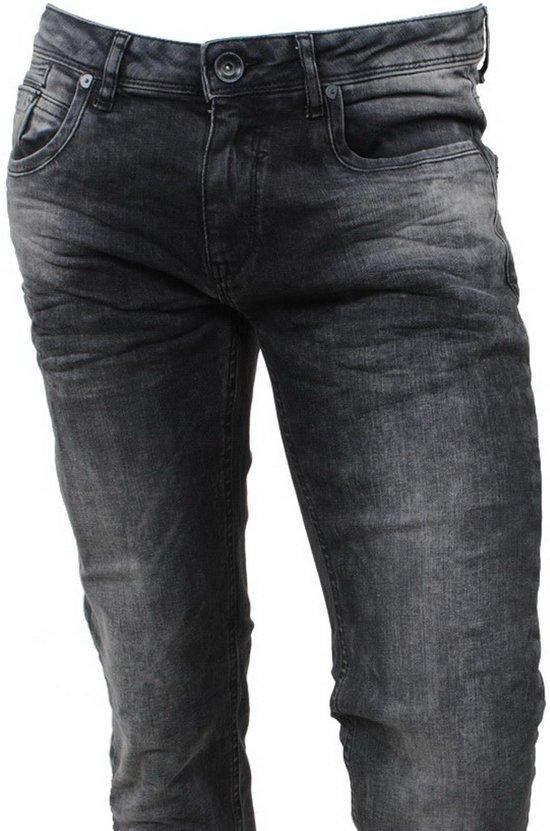 Cars Jeans Heren Jeans Slim Fit Stretch Lengte 36 Blast Black Used
