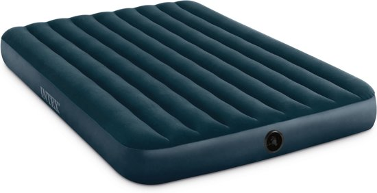 5a4a197fd6a Intex midnight Green Downy Queen Luchtbed - 2-persoons - 152 x 203 x 25