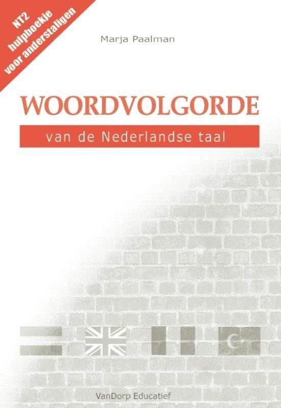 Boek cover Woordvolgorde van de Nederlandse taal van Marja Paalman (Paperback)