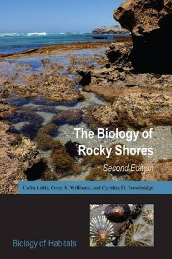 Boek cover The Biology of Rocky Shores van Colin Little (Paperback)