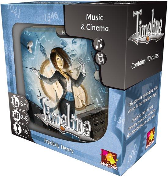 Afbeelding van het spel Timeline Music & Cinema (Engelstalig)