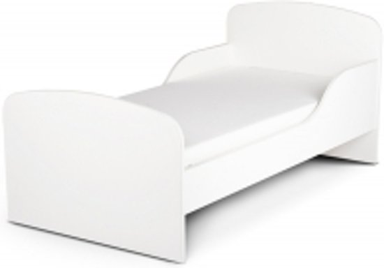 Peuterbed Wit Hout.Bol Com Houten Peuterbed Kinderbed Wit