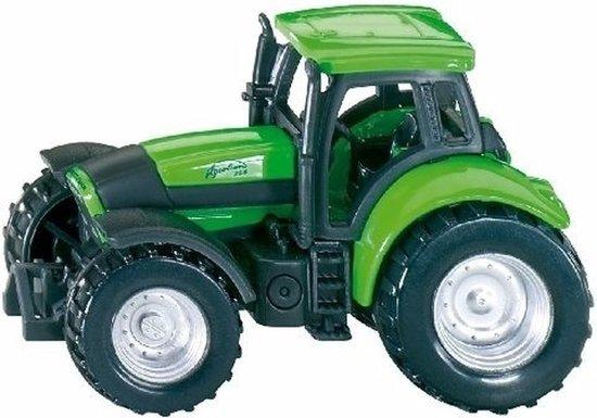 Siku Deutz Tractor speelgoed modelauto 7 cm - metaal / kunststof - trekker schaalmodel