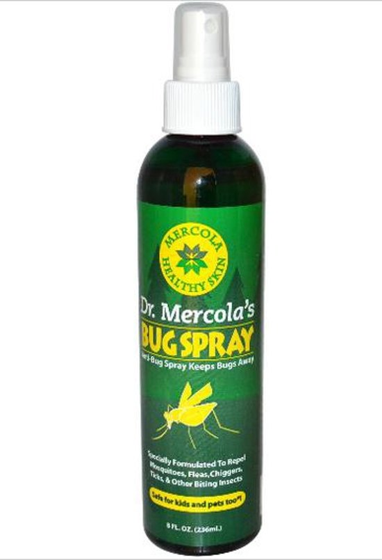 Gezonde huid, insekten spray (236 ml) - Dr Mercola