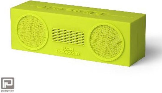 Lexon Tykho Booster Bluetooth Speaker
