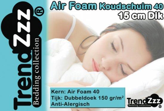Trendzzz® Matras 140x200 cm Koudschuim Air 40
