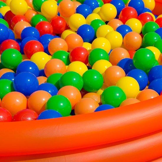 LittleTom 1200 Baby Ballenbak Ballen - Ø 5,5cm - SGS-certificaat vanaf 0 Jaar - Multicolor Mix - gekleurde Kunststof Speelballen voor Binnen en Buiten
