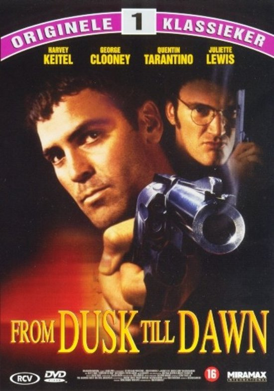 DVD cover van From Dusk Till Dawn