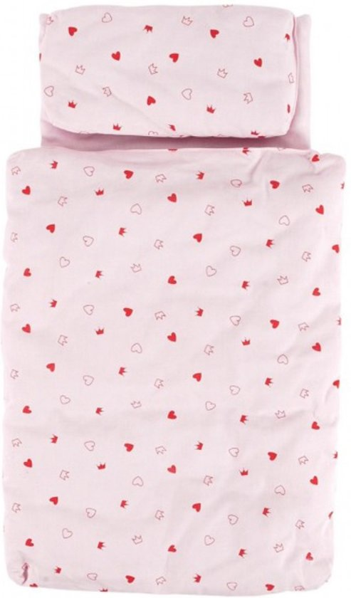 Goki Beddengoed voor Poppen - Roze